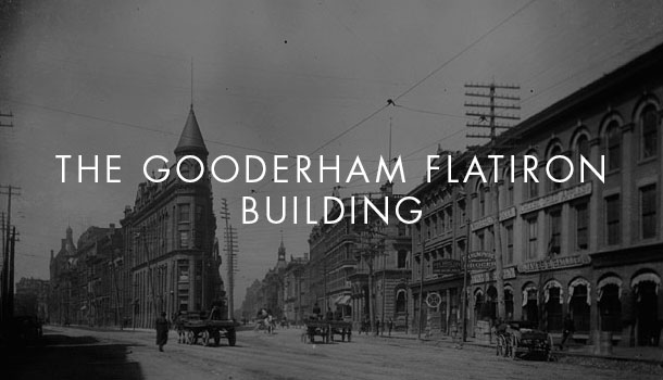 The Gooderham Flatiron Building